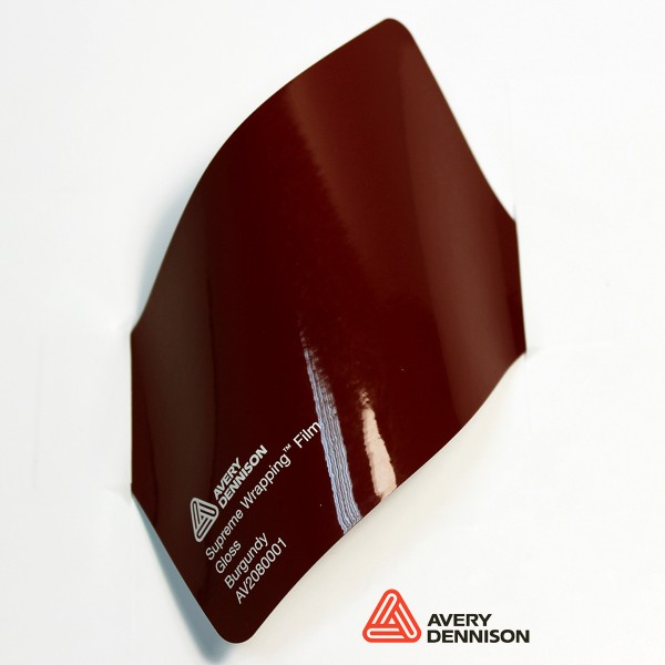 Avery Dennison - Gloss Burgundy AV2080001