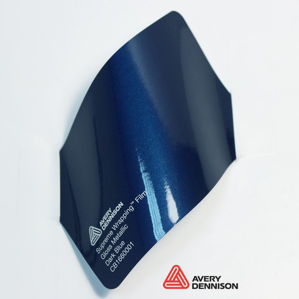 Avery Dennison - Gloss Metallic Dark Blue CB1660001