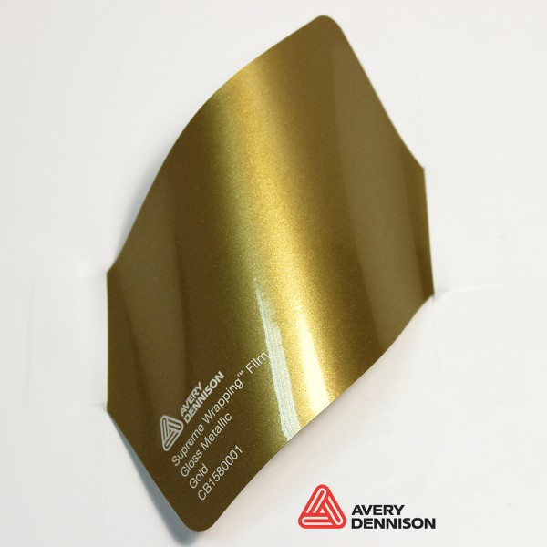 Avery Dennison - Gloss Metallic Gold CB1580001