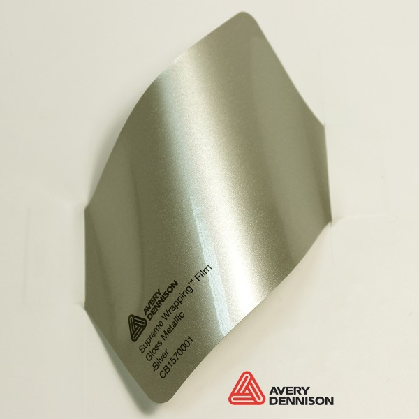 Avery Dennison - Gloss Metallic Silver CB1570001