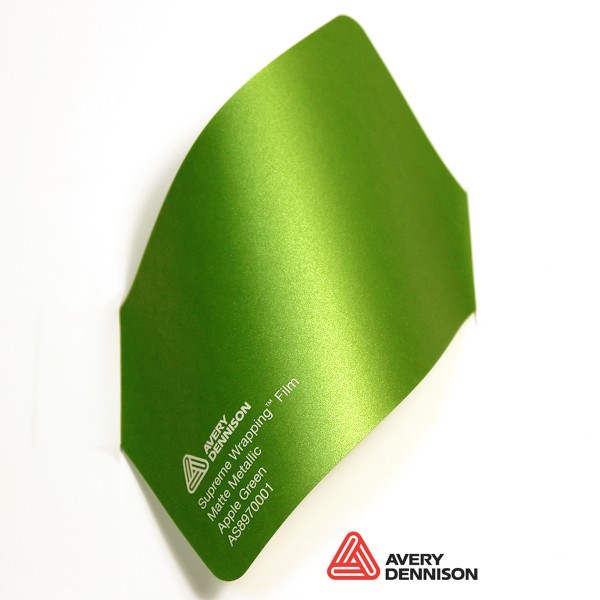 Avery Dennison - Matte Metallic Apple Green AS8970001