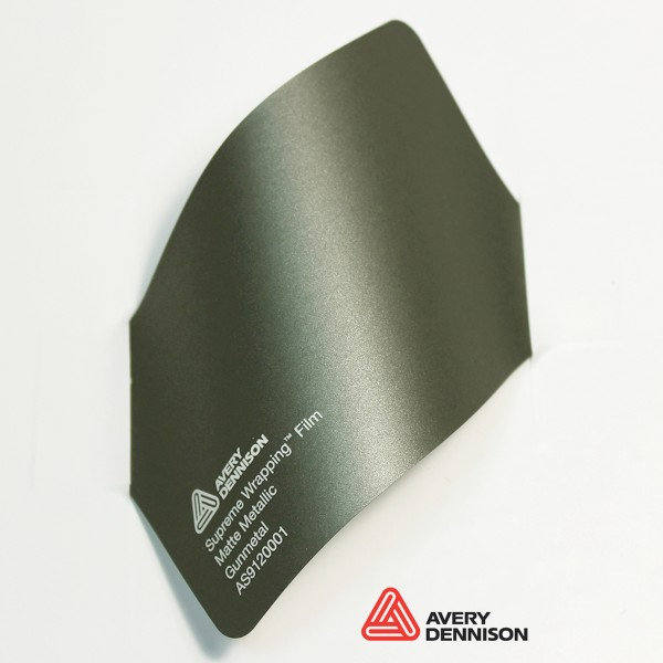 Avery Dennison - Matte Metallic Gunmetal AS9120001