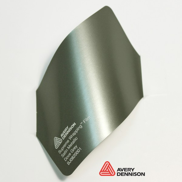 Avery Dennison - Satin Metallic Dove Grey BJ0820001