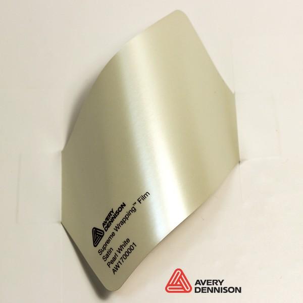 Avery Dennison - Satin Pearl White AW1700001