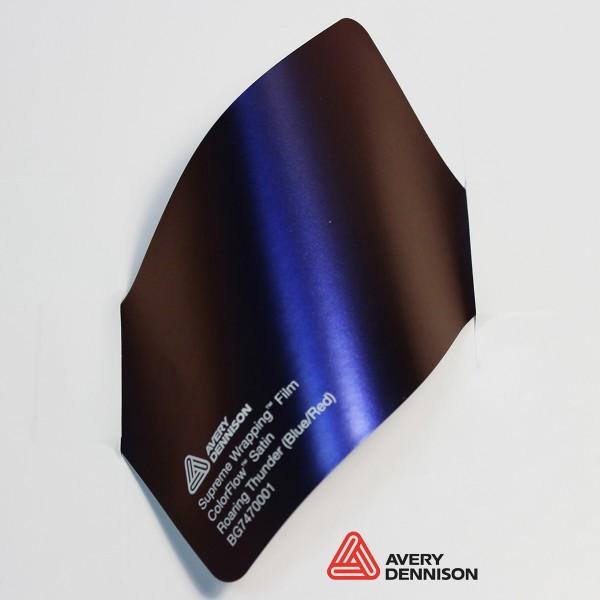 Avery Dennison -  Satin Roaring Thunder (Blue-Red) BG7470001