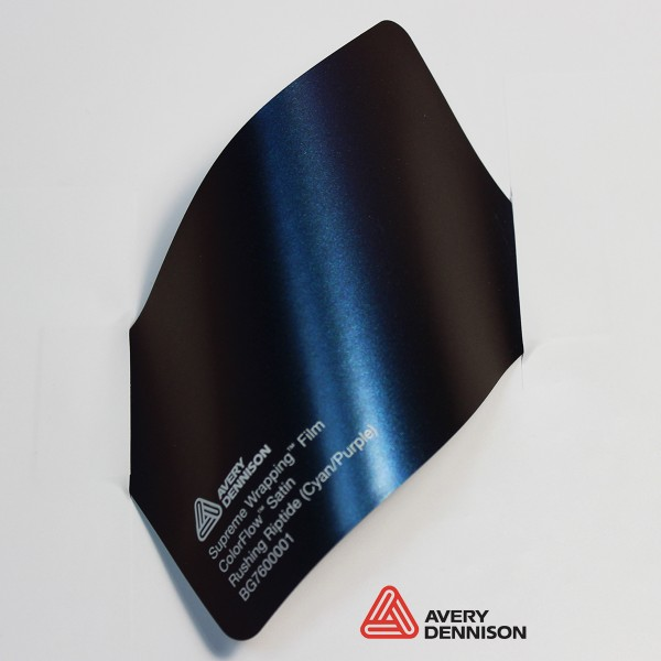 Avery Dennison - Satin Rushing Riptide (Cyan-Purple) BG7600001
