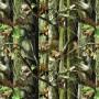 Плёнка камуфляж - Зелёный деревья А004