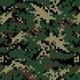 Плёнка камуфляж - Пиксель Р006