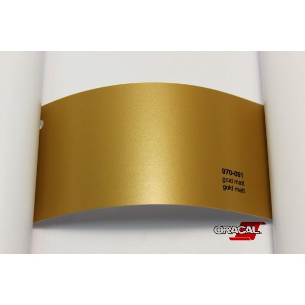 Oracal 970-091 gold matt