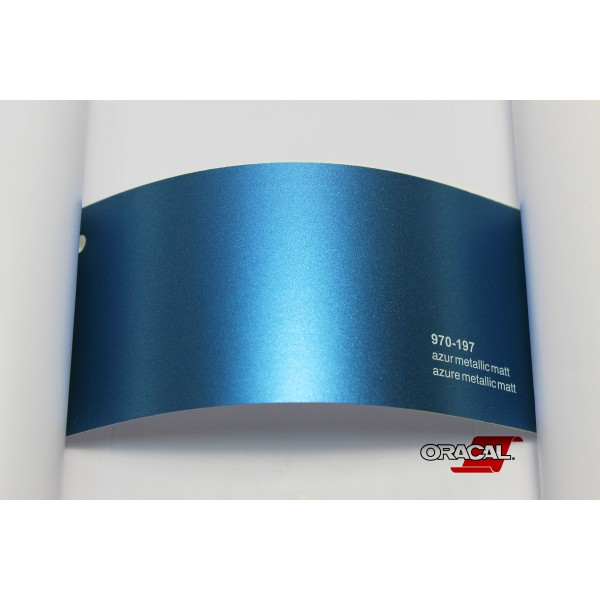 Oracal 970-197 azure metallic matt