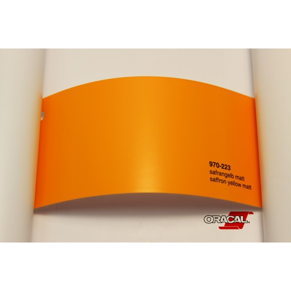 Oracal 970-223 saffron yellow matt