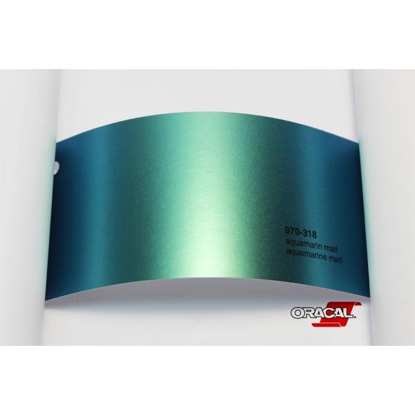 Oracal 970-318 aquamarine matt