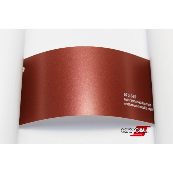 Oracal 970-369 red brown metallic matt