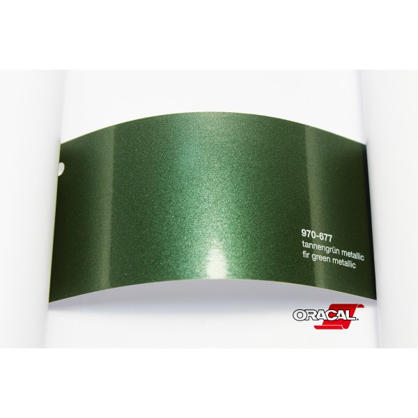 Oracal 970-677 fir green metallic
