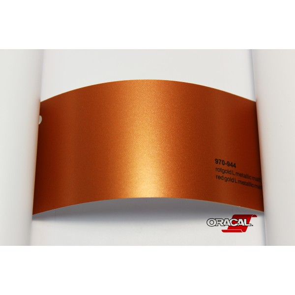 Oracal 970-944 red gold metallic matt